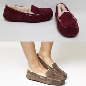UGG Ansley Mahogany Multicolor Moccasins Slippers